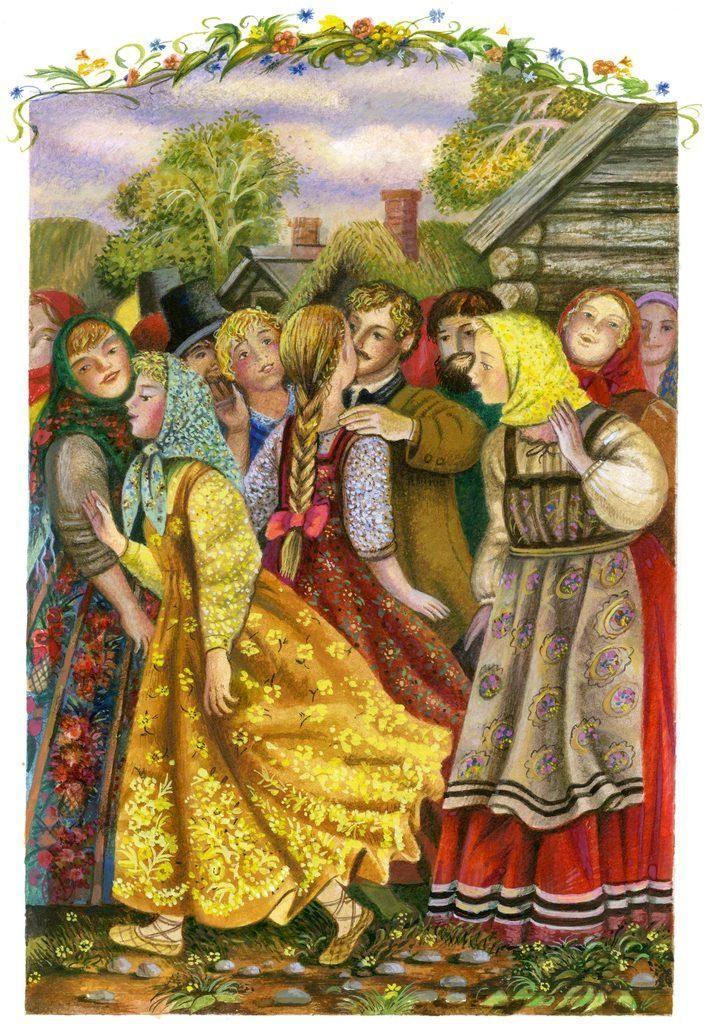 Картинки из произведения барышня-крестьянка