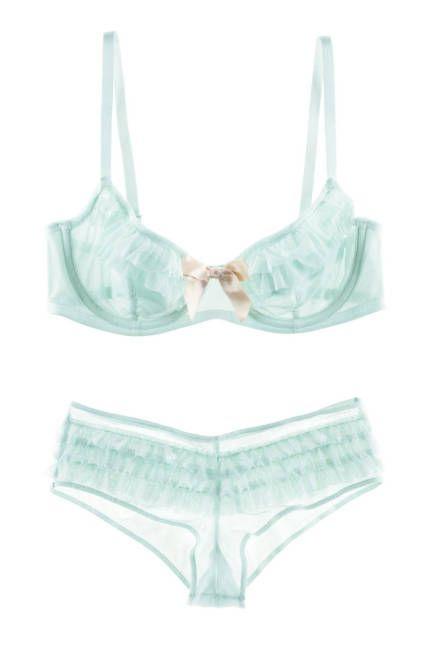 Super cute, super seafoam, super affordable #lingerie