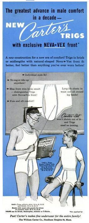 The very definition of inappropriate student-teacher relationship.l vintage Underwear Ads That Will Give You Nightmares