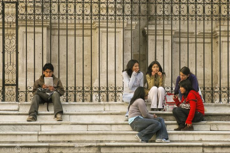 Boy and Girls in Arequipa by Carl Ottersen on 500px