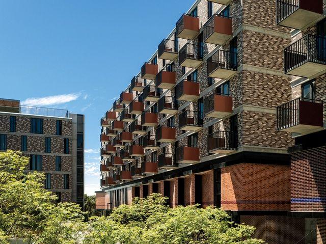 UNSW Kensington Colleges - Aluminium Modular balustrades by Elite Balustrades