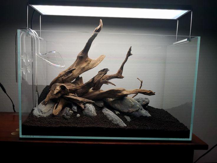 Aquascape 60p Hardscape Driftwood Aquariumdecordriftwood Fish Tank Plants Fresh Water Fish Tank Aquarium Driftwood