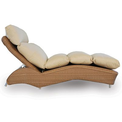 Single Chaise Lounge with Cushion Finish: Sage, Fabric: Carnegie Willow - http://delanico.com/chaise-lounges/single-chaise-lounge-with-cushion-finish-sage-fabric-carnegie-willow-584292500/