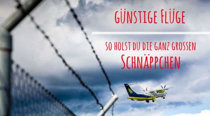Günstige Flüge finden - So holst du dir die grossen Schnäppchen - Titelbild Um die Weltreise