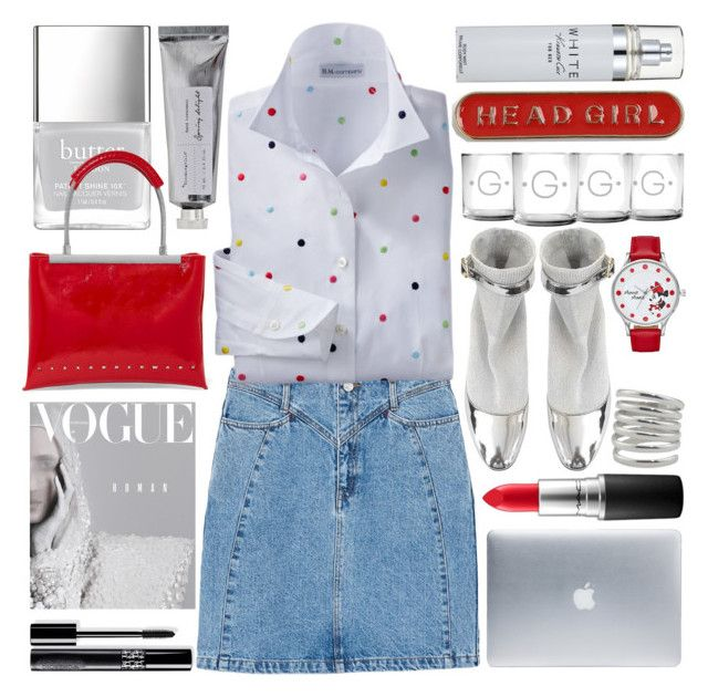 """""""Red Bag"""" by grozdana-v ❤ liked on Polyvore featuring Topshop, Nicholas Kirkwood, Bloomingville, MANGO, Alexander Wang, MAC Cosmetics, Incase, Disney and Kenneth Cole"""