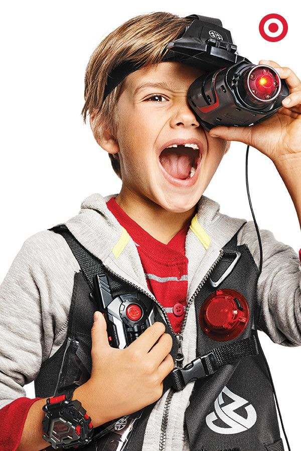 This holiday, equip your little double agent with Spy Gear. Makes a clever gift for younger boys and a great stocking stuffer, too.