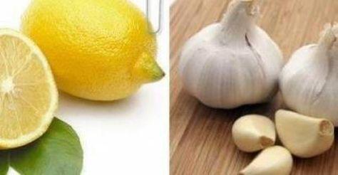 Gençlik İksiri Limon ve Sarımsak