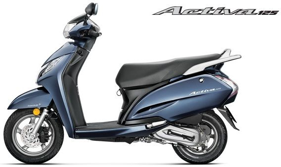 New Honda Activa 125cc Scooter Price and Specifications
