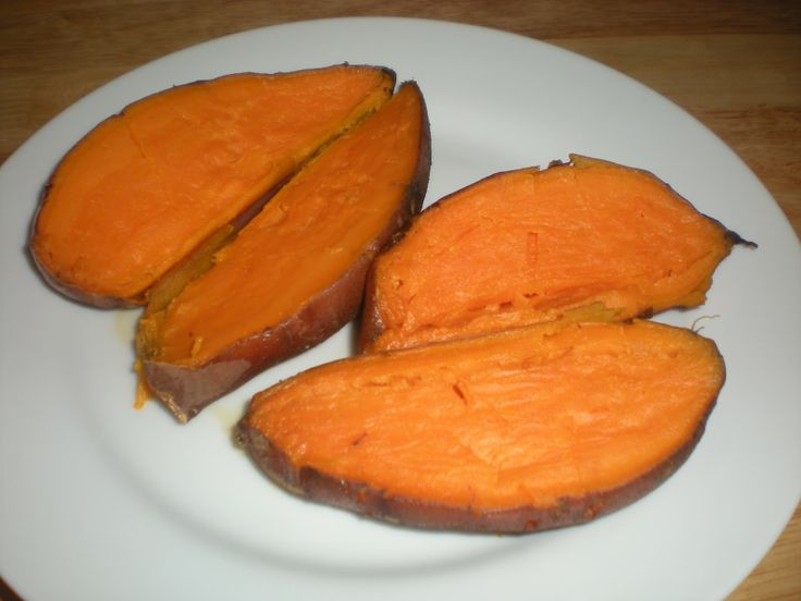how to make baked sweet potatoes in a crock pot