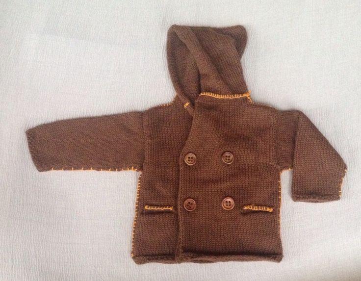 Cappotto con cappuccio bambino in calda lana merinos e alpaca. Www.nivess.it