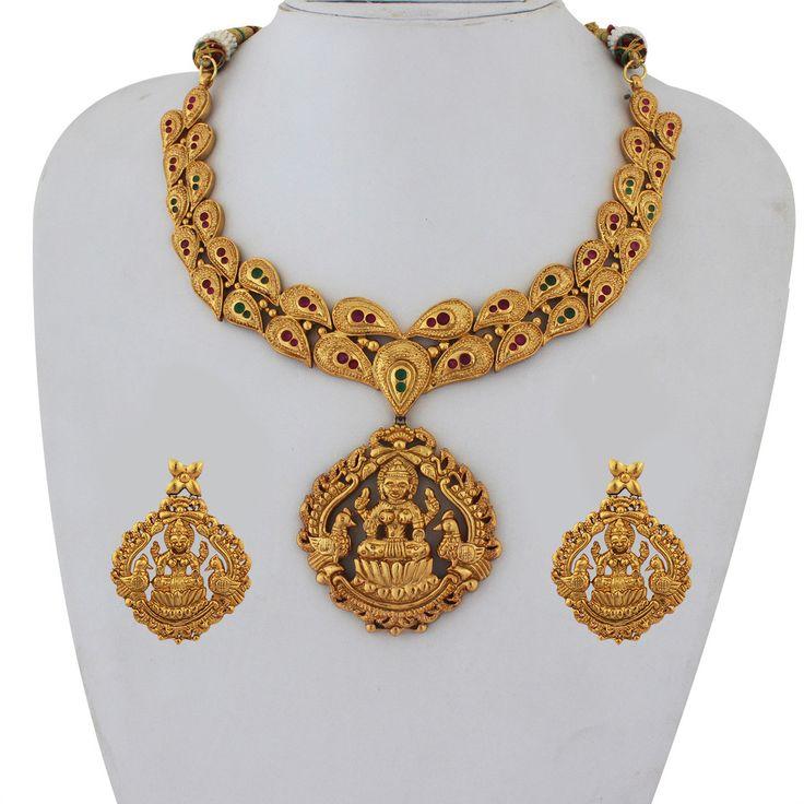 Designer Traditional Antique Necklace Set AQ-NCK-069-150