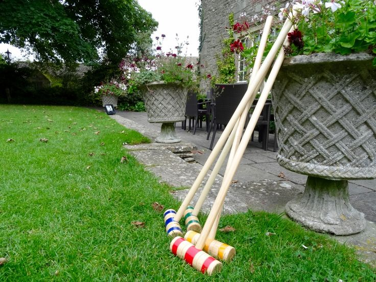 Game of croquet anyone? Wrap up warm and enjoy a game or two http://www.calcot.co