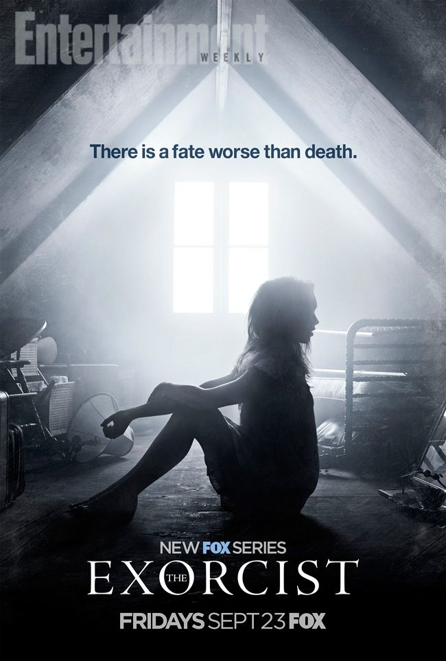 The Exorcist: Get creeped out by this exclusive key art from Fox's reboot