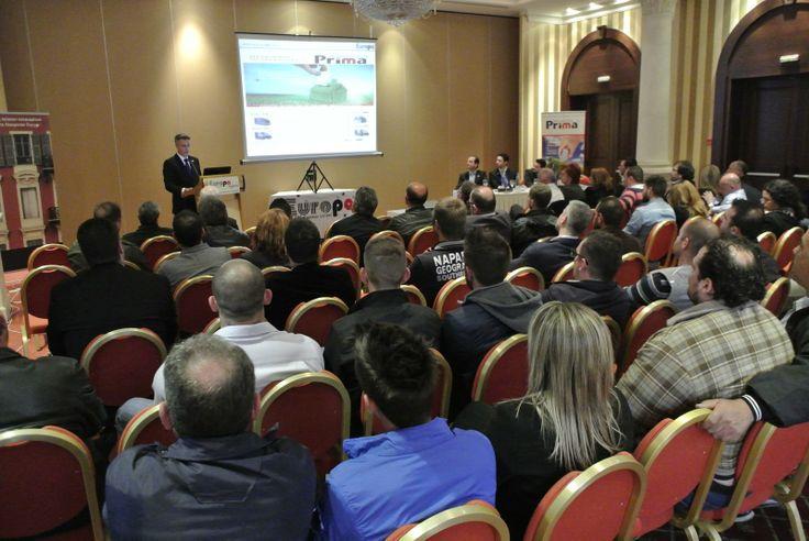 Στιγμιότυπο από την παρουσίαση των προϊόντων Europa στη Λάρισα για κατασκευαστές απ'όλη την Κεντρική Ελλάδα. #europaprofil