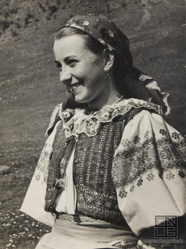 Ján Cifra - Ethnographic festival / Národopisné slávnosti (1956) / Slovakia