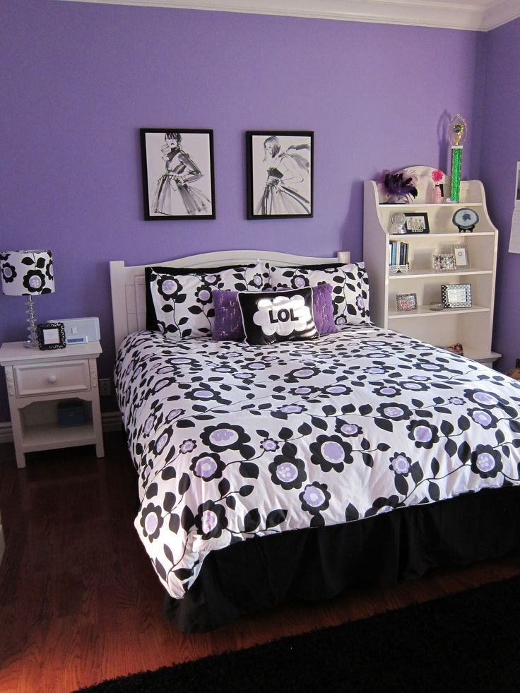 bedroom ideas for teenage girls purple. a teen bedroom makeover ideas for teenage girls purple d