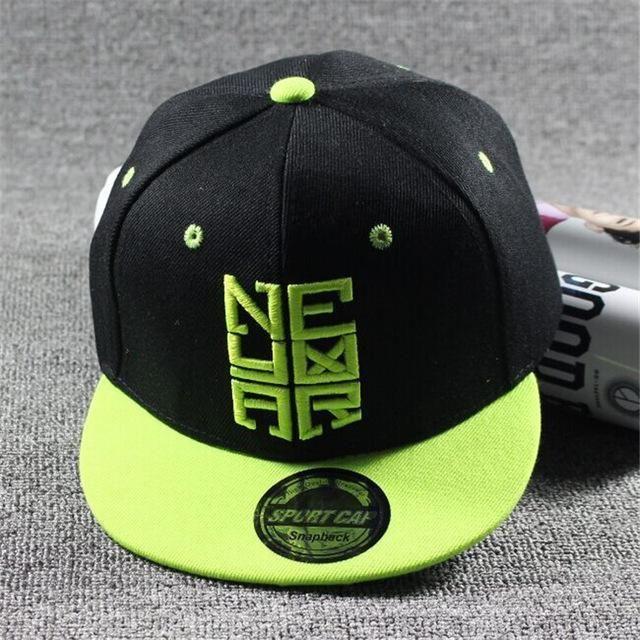 Children/'s Cap CR7 Baseball Hat Boy Girl Kids Snap-back Hats Hip Hop Adjustable