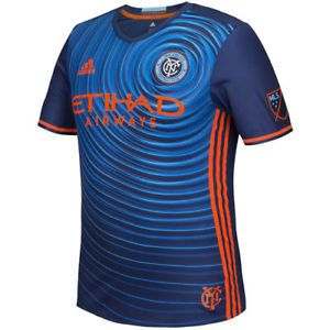 a adidas new york city fc navy 201617 authentic secondary jersey mls
