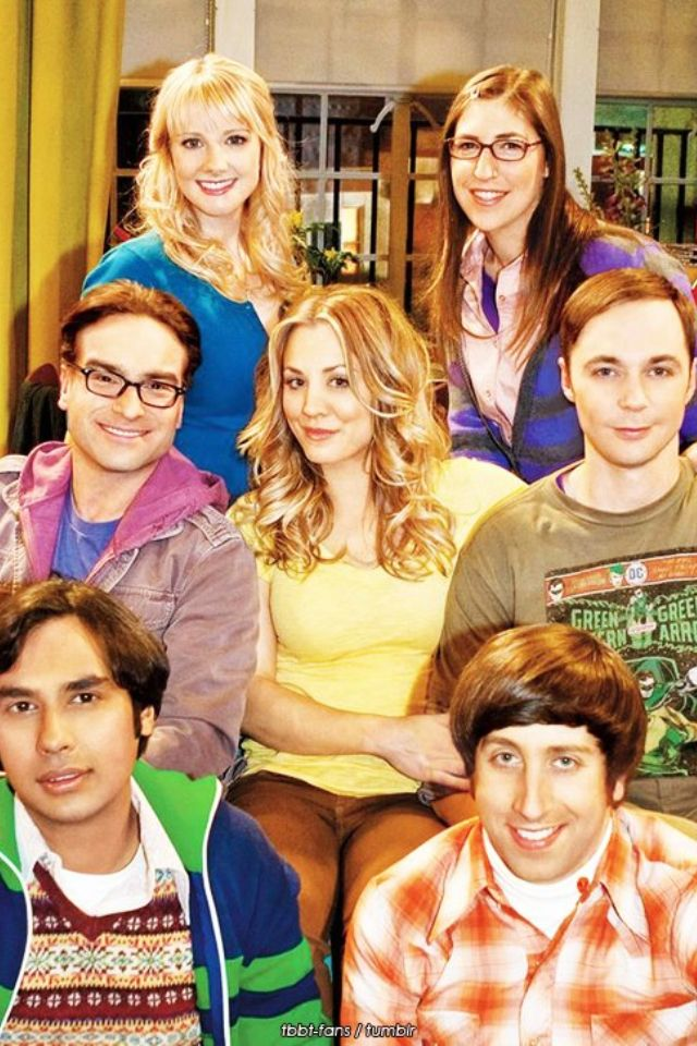The Big Bang Theory Cast -- I like how they're posed fairly naturally instead of having some big theme.