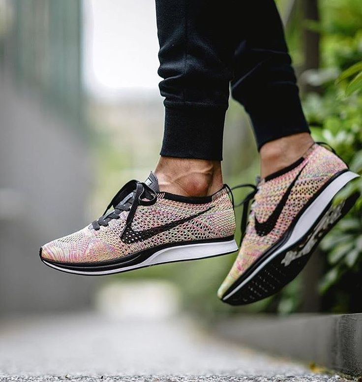 Nike Flyknit Racer Multicolor by @one_man_army.07 // >> Tag #sneakersmag for a shoutout! << #nike #flyknit #racer #nikeflyknit #sadp #kotd #walklikeus #igsneakercommunity #womft #multicolor