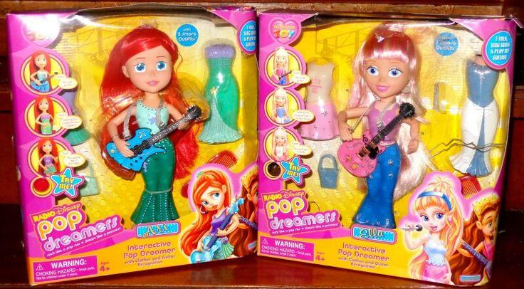 Disney Pop Dreamers singing disney princess dolls UK early ...