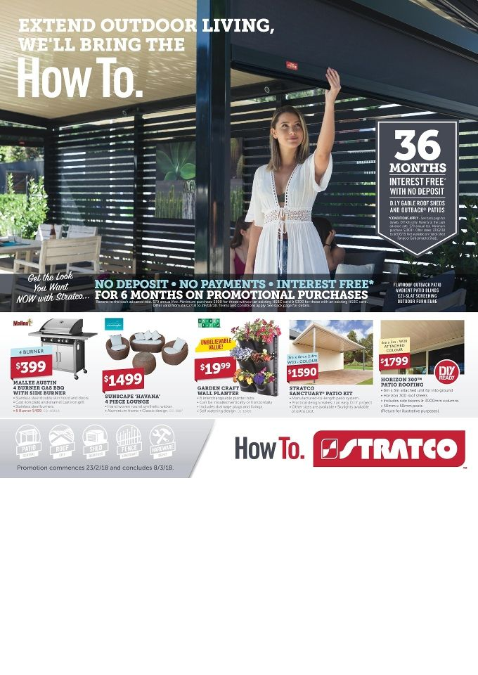 Stratco Catalogue 23 February – 8 March 2018 - http://olcatalogue.com/stratco/stratco-catalogue.html