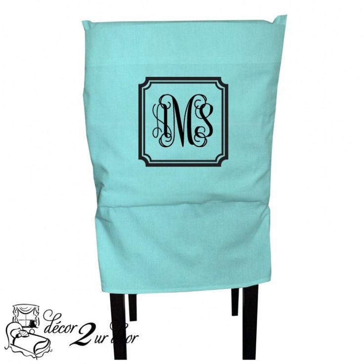 Tiffany Quatrefoil Custom Fabric Chair Cover