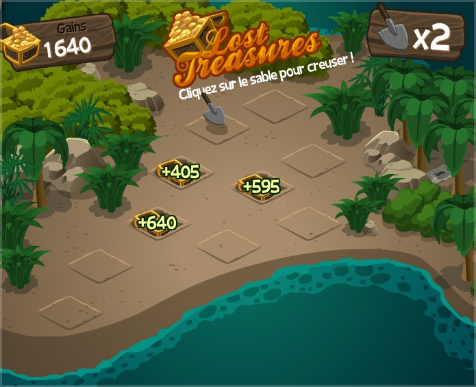 Mini-game Lost Treasures - La Riviera