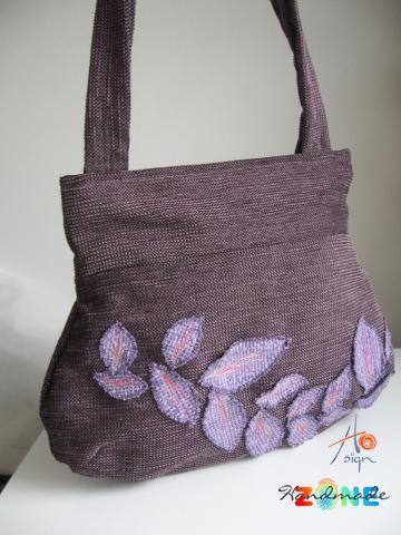 Geanta mare pt. umar Violet