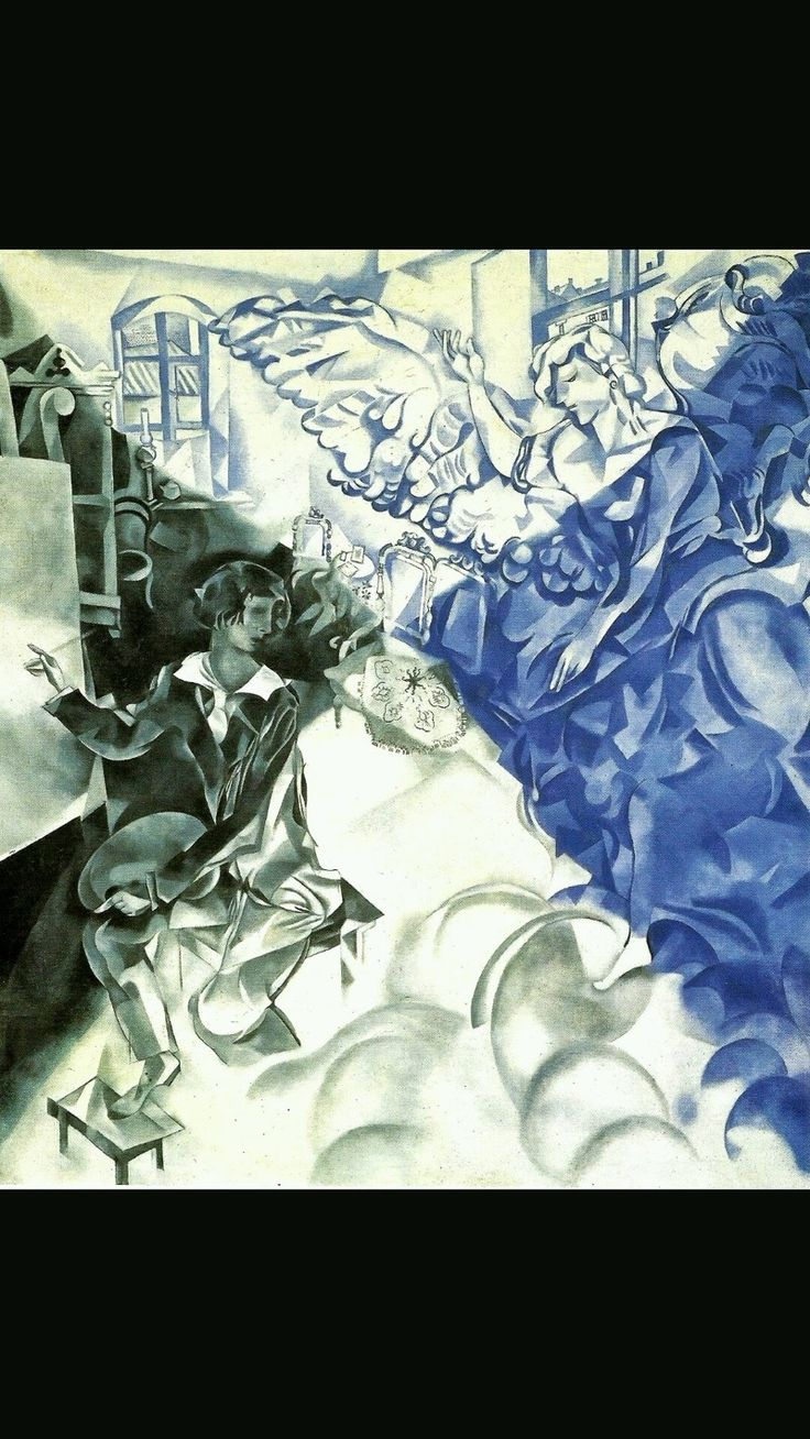 L'apparizione, Marc Chagall