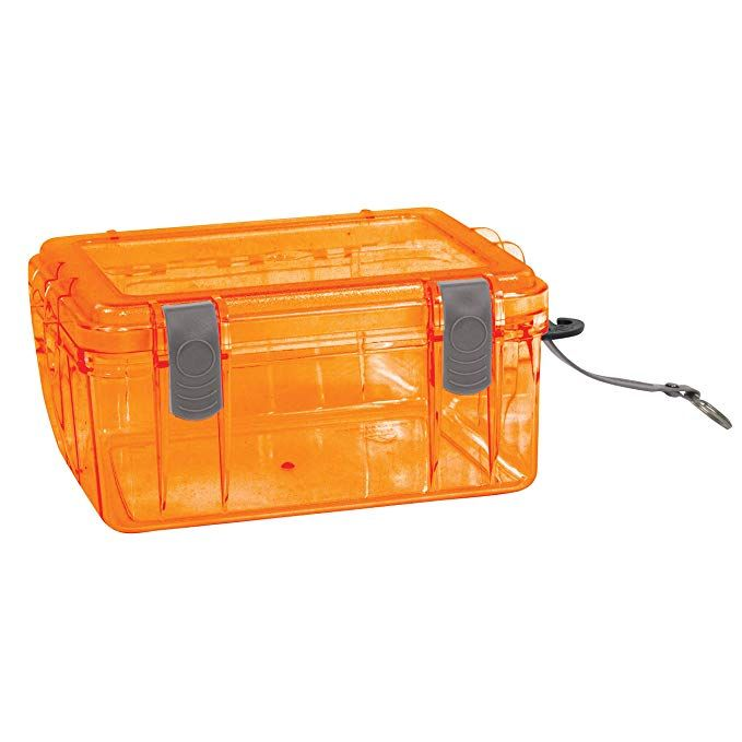 Outdoor Products Watertight Box Review Kayak Fish Finder Fishing Tips Dry Bag