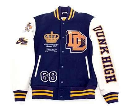 letterman jackets | Nike x Destroyers – Dunk High + Letterman Jacket