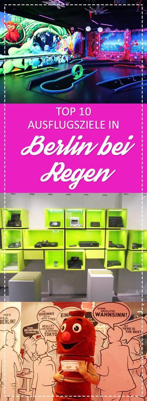 Top 10 Ausflugsziele in Berlin bei Regen! <3 #Unternehmung #Regen