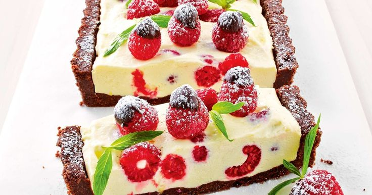 The gluten-free biscuit base, lemony cream filling and fresh berries make this no-cook make-ahead dessert a guaranteed winner.