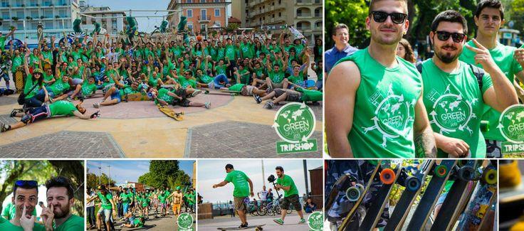 Green skate day 2014 a Riccione. Il 1 giugno da Riccione a Rimini sulle tavole da skate in un percorso sul lungomare tra tanti contest per tutti i livelli.