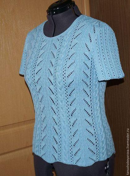 Sudaderas y jerseys hechos a mano luz de verano su ter - Patrones jerseys de punto hechos a mano ...