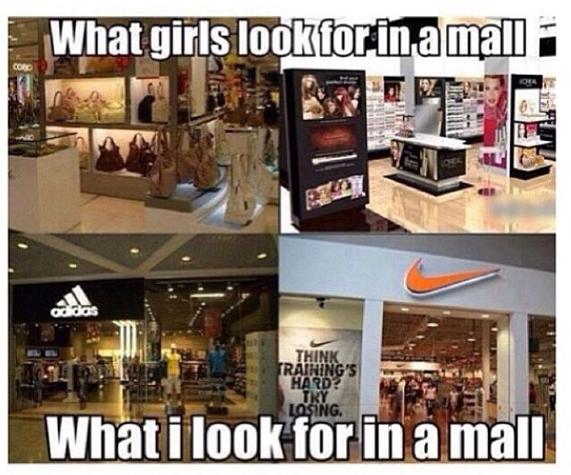That's like 100% true! And of course when I go into other stores I beeline for…