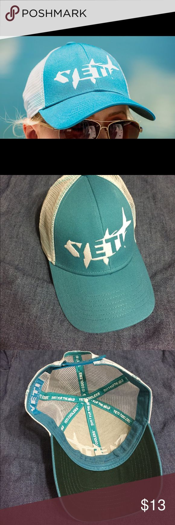 Yeti Trucker Style Hat NWOT Yeti Coolers trucker hat - real. Never worn, perfect condition! Yeti Accessories Hats
