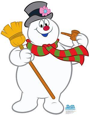 Frosty The Snowman Lifesize Cardboard Cutout