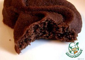 Венское шоколадное сабле по рецепту Пьера Эрмэ.       Какао-порошок (несладкий) — 30 г     Масло сливочное (комнатной темп.) — 250 г     Мука пшеничная — 260 г     Сахарная пудра — 100 г     Белок яичный — 2 шт
