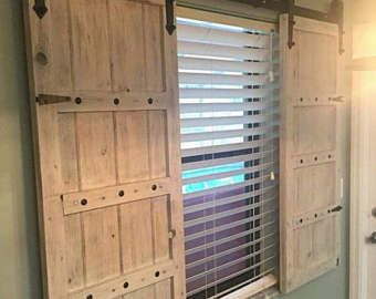 Best 25 barn windows ideas only on pinterest barn for How to make shutters from pallets