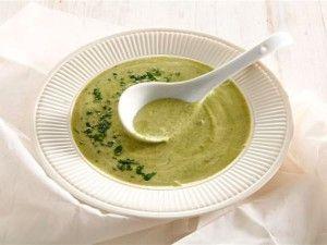 Baby marrow soup