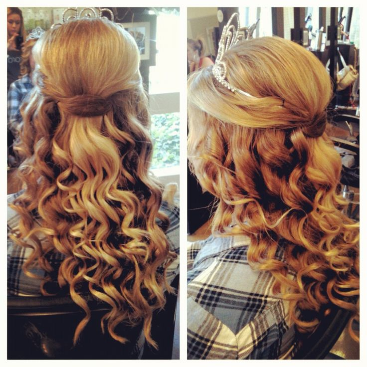Hairstyles For Long Hair Sweet 16 : Sweet 16 Hair! prom Pinterest
