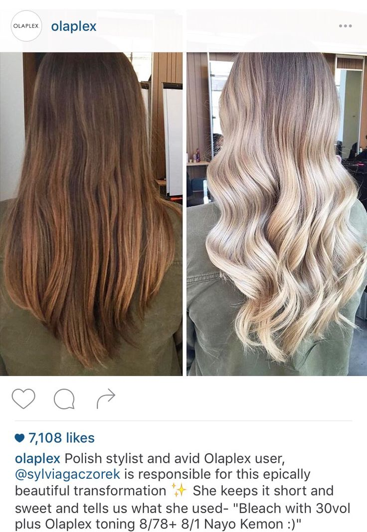 Beautiful before and after. Brown to ash blonde