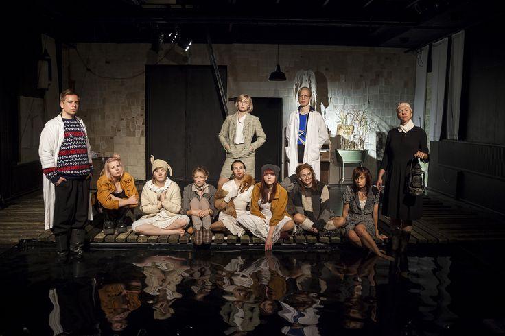 Haurela - hankalien laulu Turun ylioppilasteatterilla 10.10.2014. Kuva: Jouni Kuru.