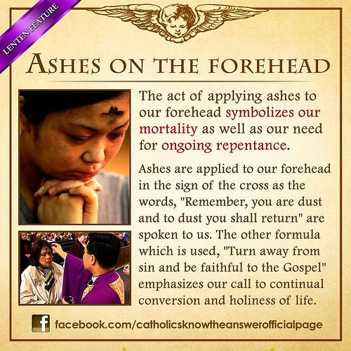 how to make ash wednesday ashes