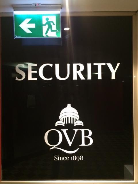 #sydney: QVB security | -- Dasapta Erwin Irawan --
