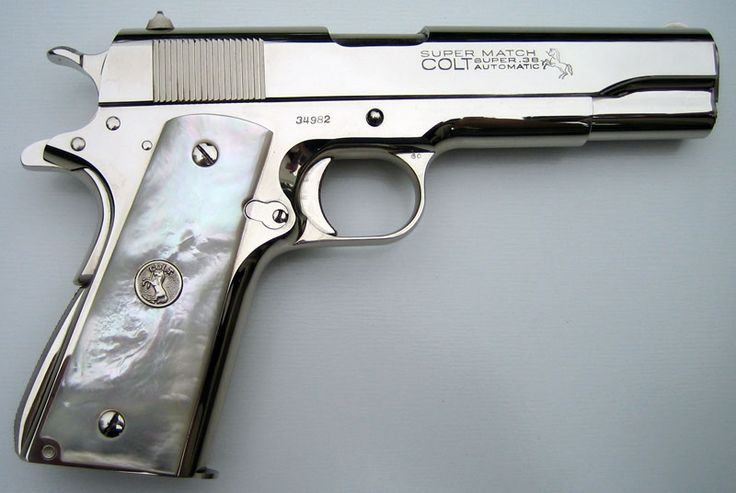 Colt Pistols and Revolvers for Firearms Collectors - Gun of the Month - June 2008