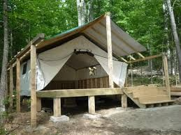 Image result for tent raised floor