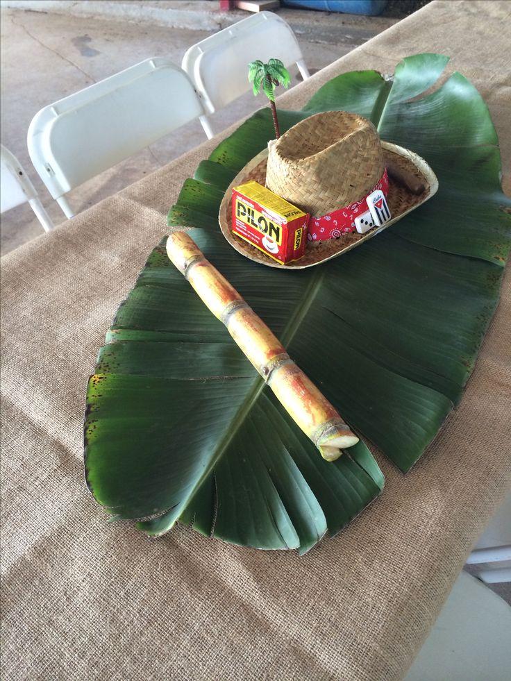 Cuban Wajiro Table Centerpiece!